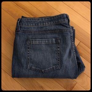 New York & Company Curvy Low Raise Boot Cut Jean
